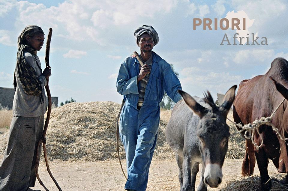 Äthiopien Trekking Bauern Irobland PRIORI Afrika Reisen