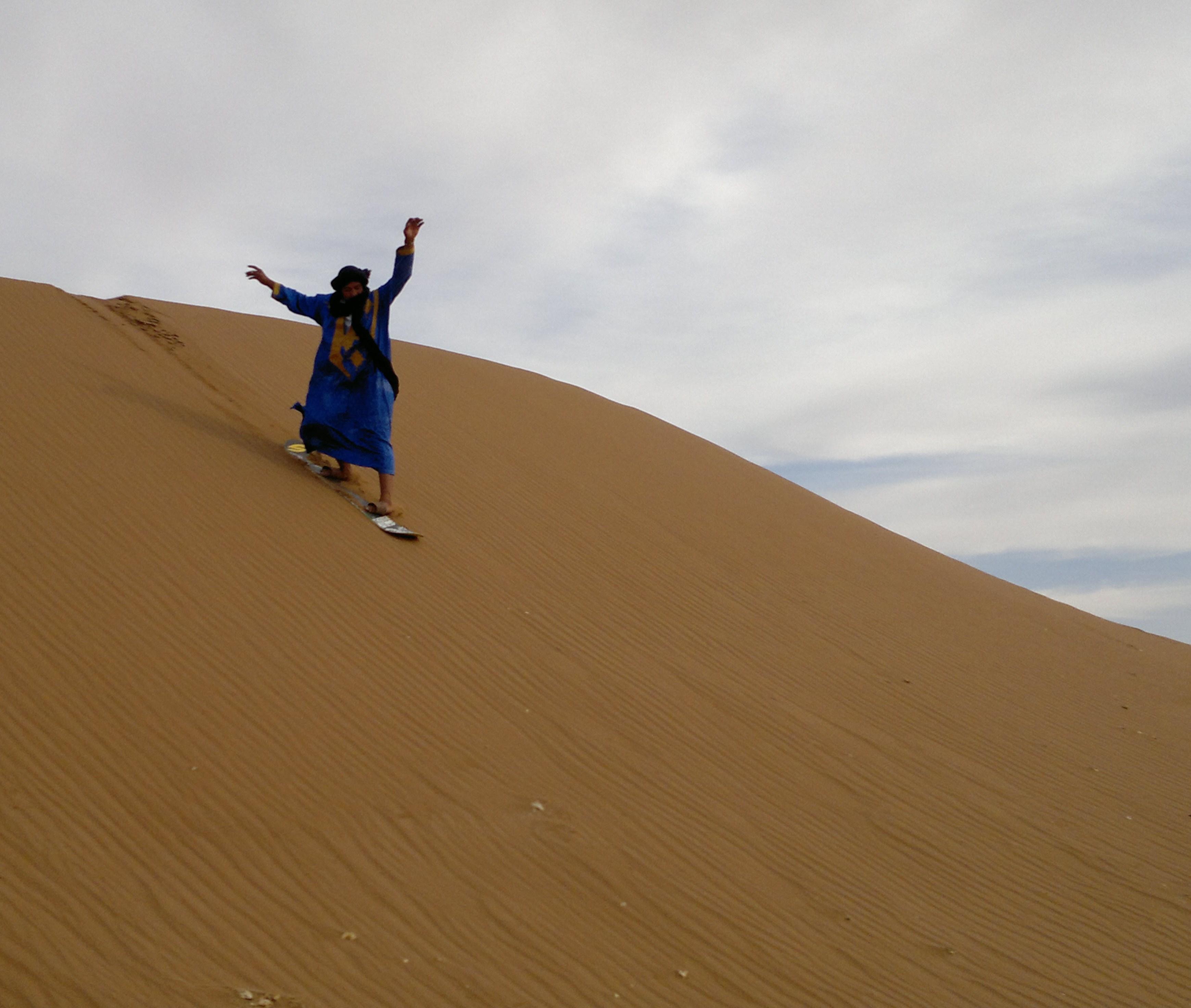 Marokko Wüste Beduine Sand PRIORI Reisen