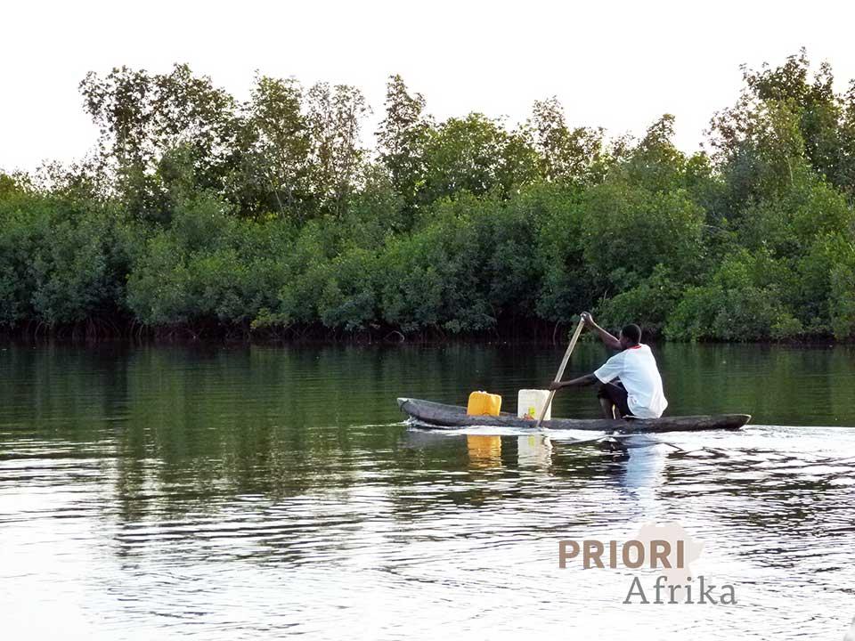 Guinea Bissau Reisen Fluss PRIORI Afrika