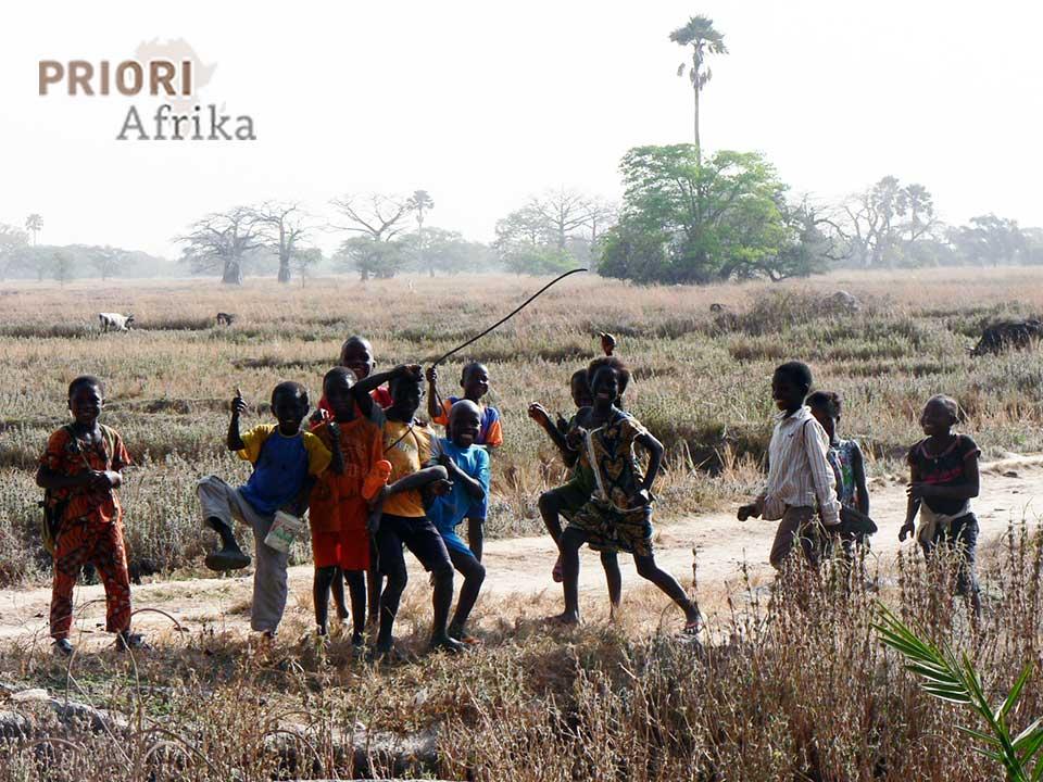 Guinea Bissau Kinder PRIORI Reisen Afrika