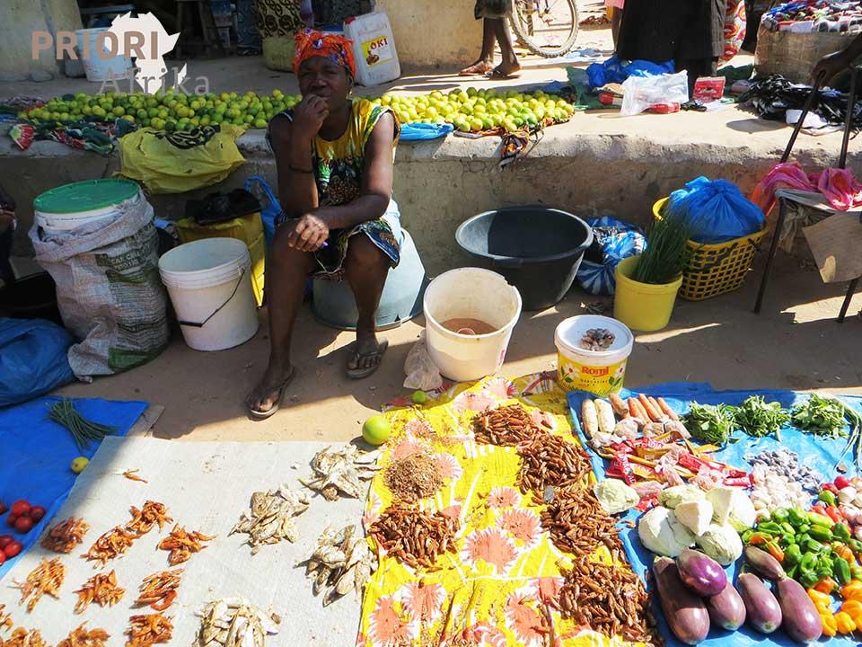 Guinea Bissau Reisen Markt Frau PRIORI Afrika