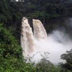 Kamerun Reisen Wasserfall Kamkam
