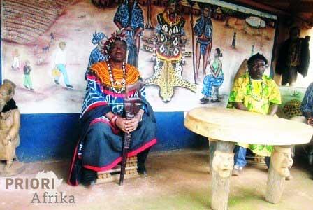 Kamerun Reisen Keleng Kultur Stamm