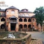 Kamerun Reisen Foumban Architektur