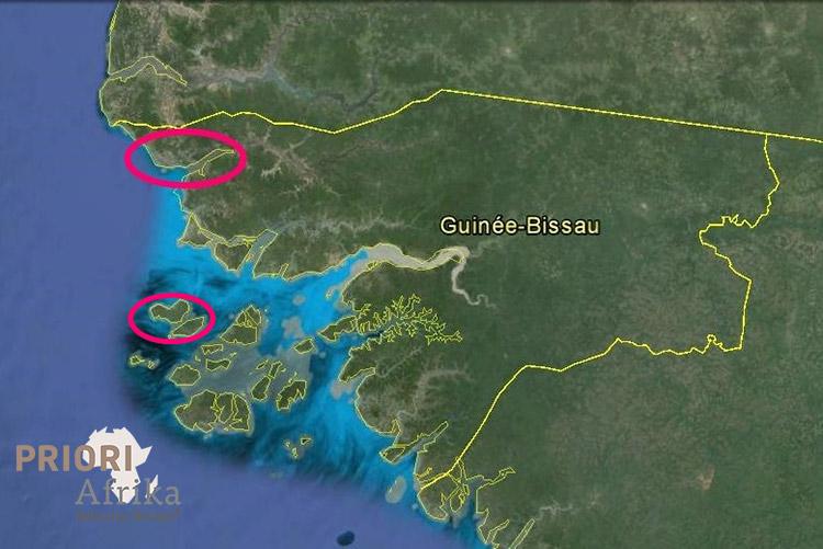 Guinea Bissau Reise Route Norden Bilajos Archipel Insel PRIORI Afrika Reisen