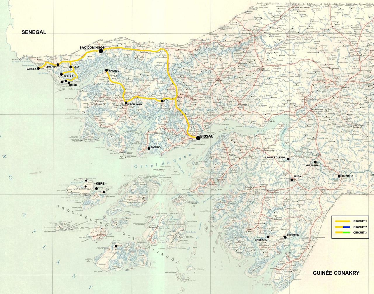 Guinea Bissau Reisen Tour Kasumai Norden