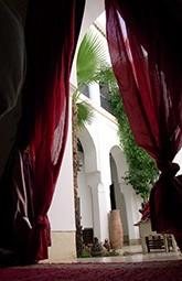Marrakesch Marokko Reise Riad