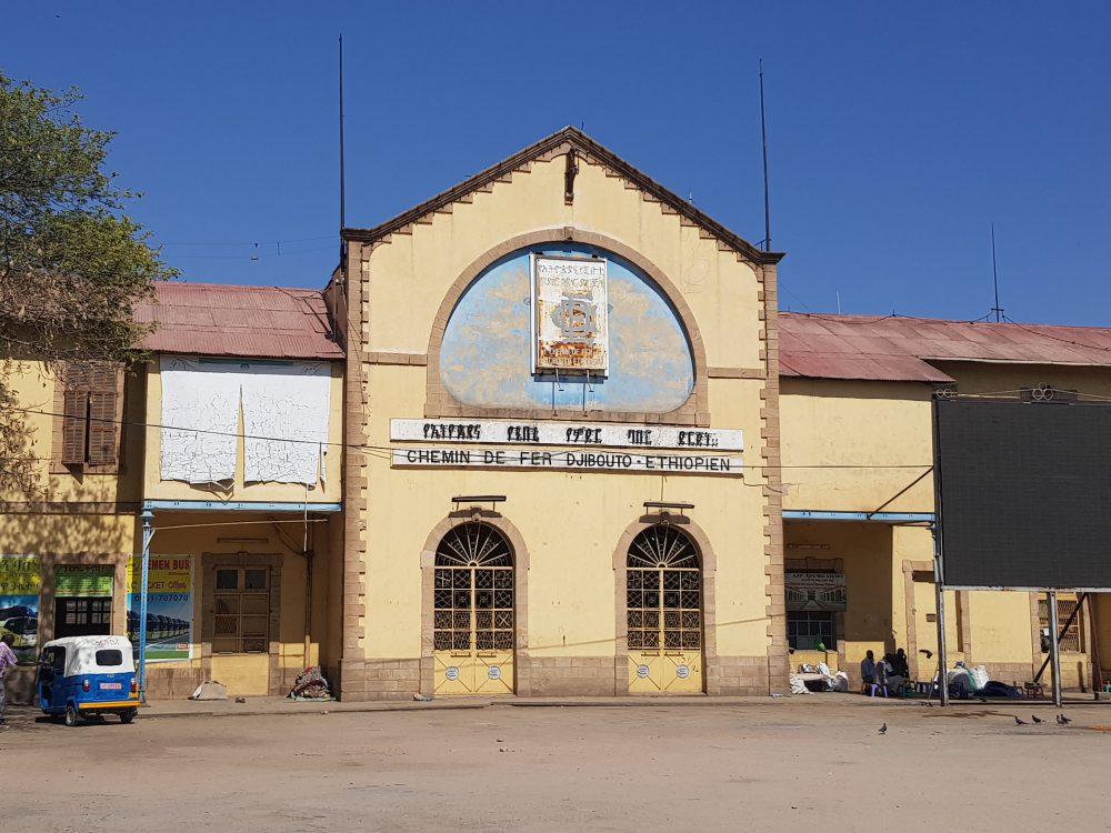 Bahnhof Dire Dawa Äthiopien